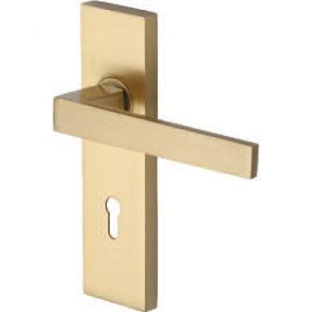 Lever On Backplate Door Handle DEL6000 DELTA