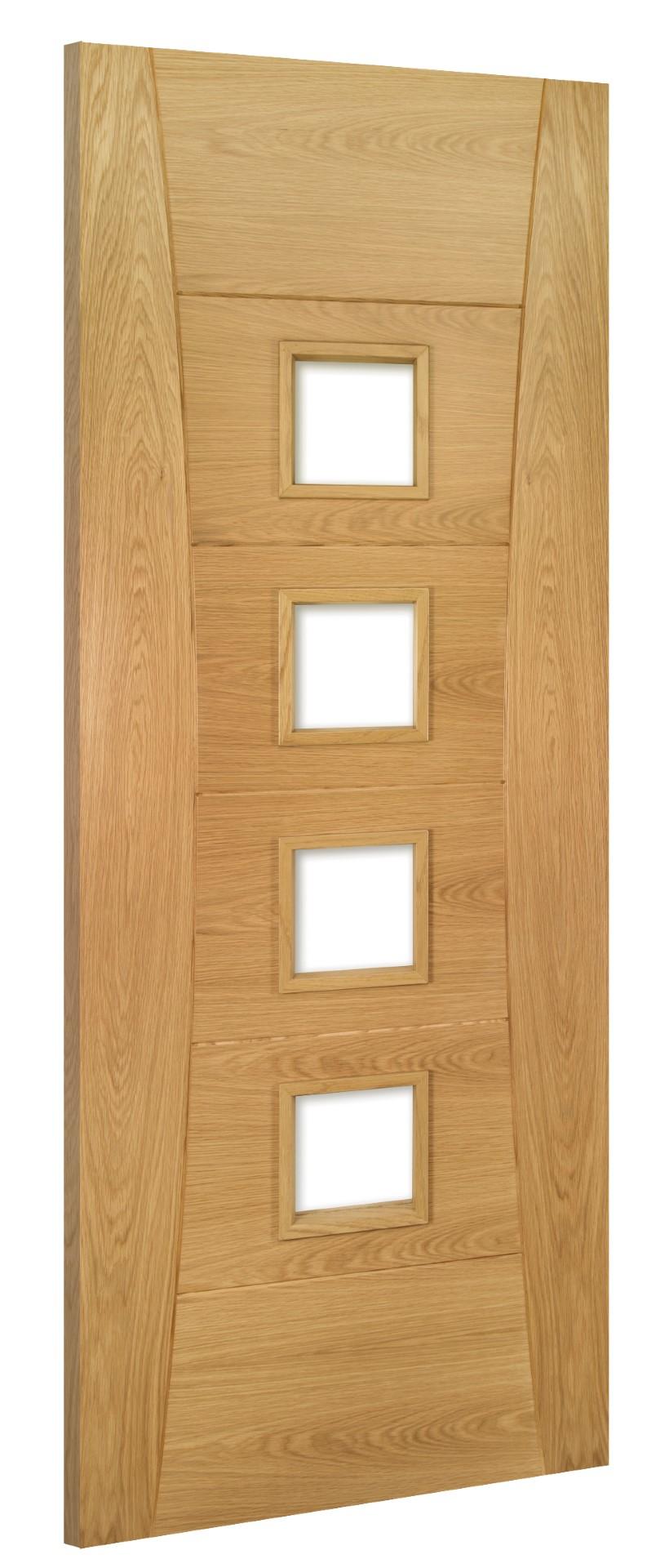 Oak Door HP18G-UNG