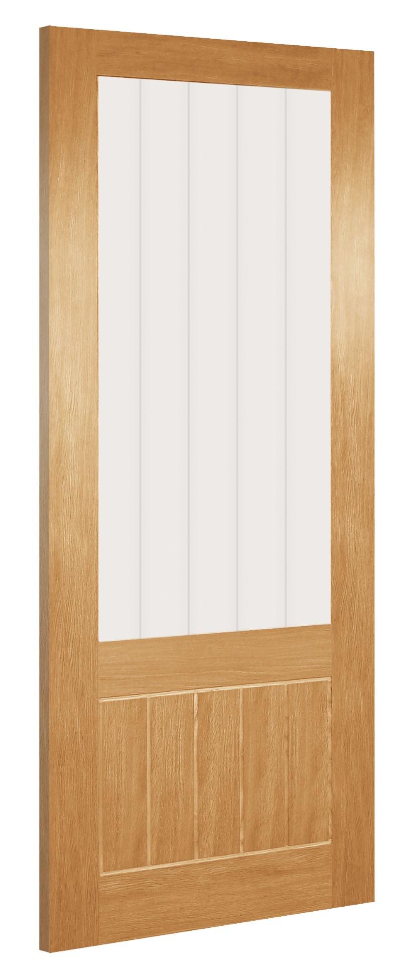 Oak Door HP38L-LB | HB38G-UNG