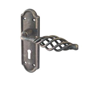 Lever On Backplate Door Handle IRC4000 CAGE