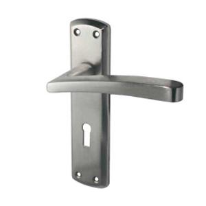 Lever On Backplate Door Handle JV404 GENOA