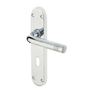 Lever On Backplate Door Handle JV660 PORTO