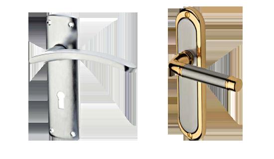 Lever on Backplate Door Handles, Door Levers, Door Knobs - Door and Timber Supplies Wexford