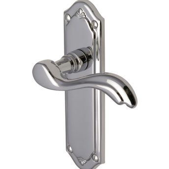 Lever On Backplate Door Handle MM991 LISBOA
