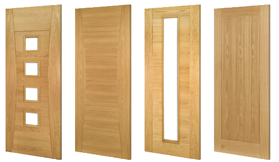 Oak Door Collection - Door & Timber Supplies - Solid Oak Doors