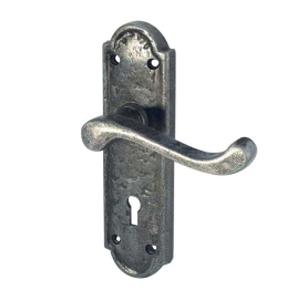 Lever On Backplate Door Handle PEW300 TURNBERRY