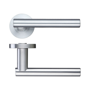 Lever On Rose Door Handle ZPZ090-SC