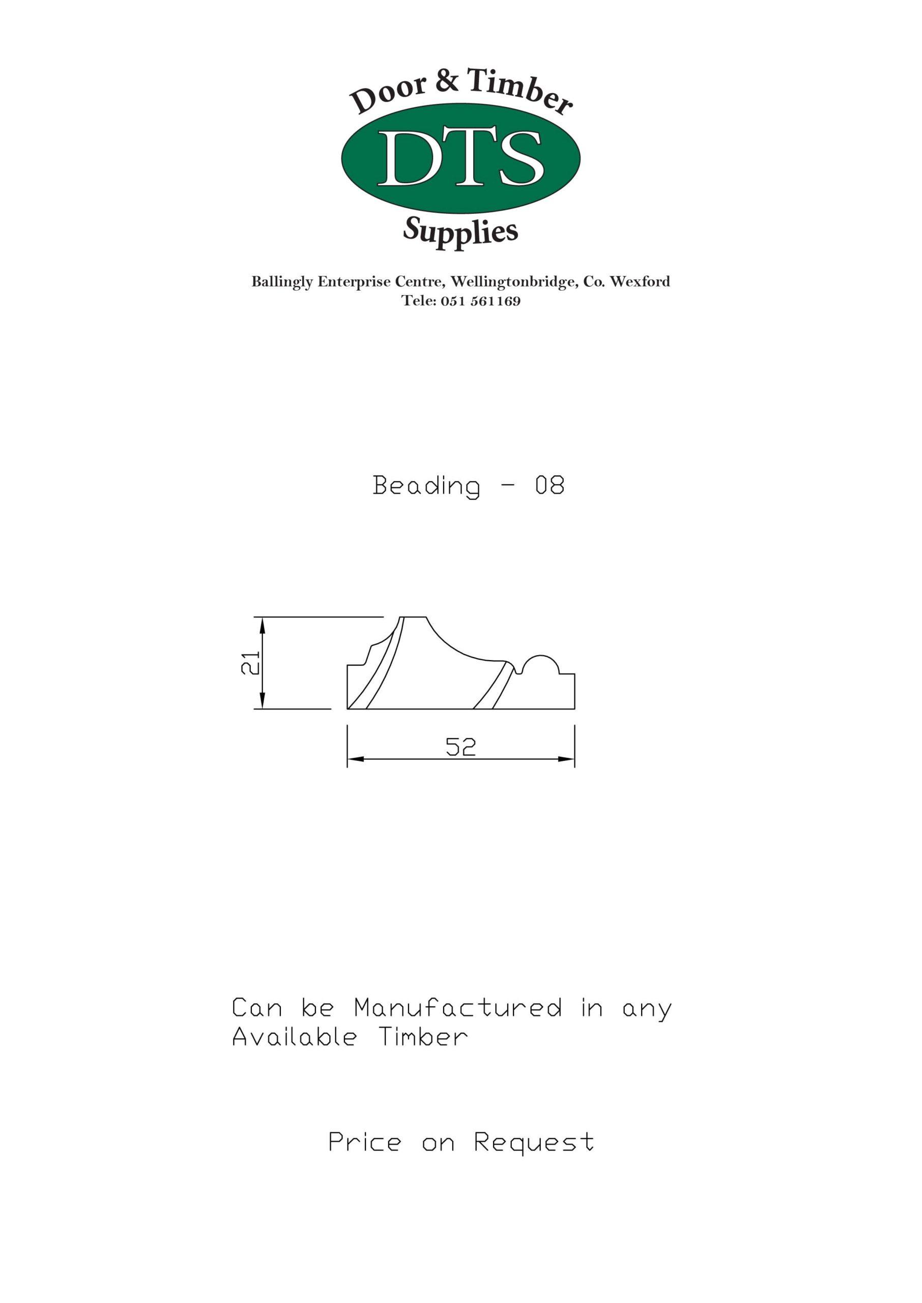 Door and Timber Supplies - Bespoke Beading