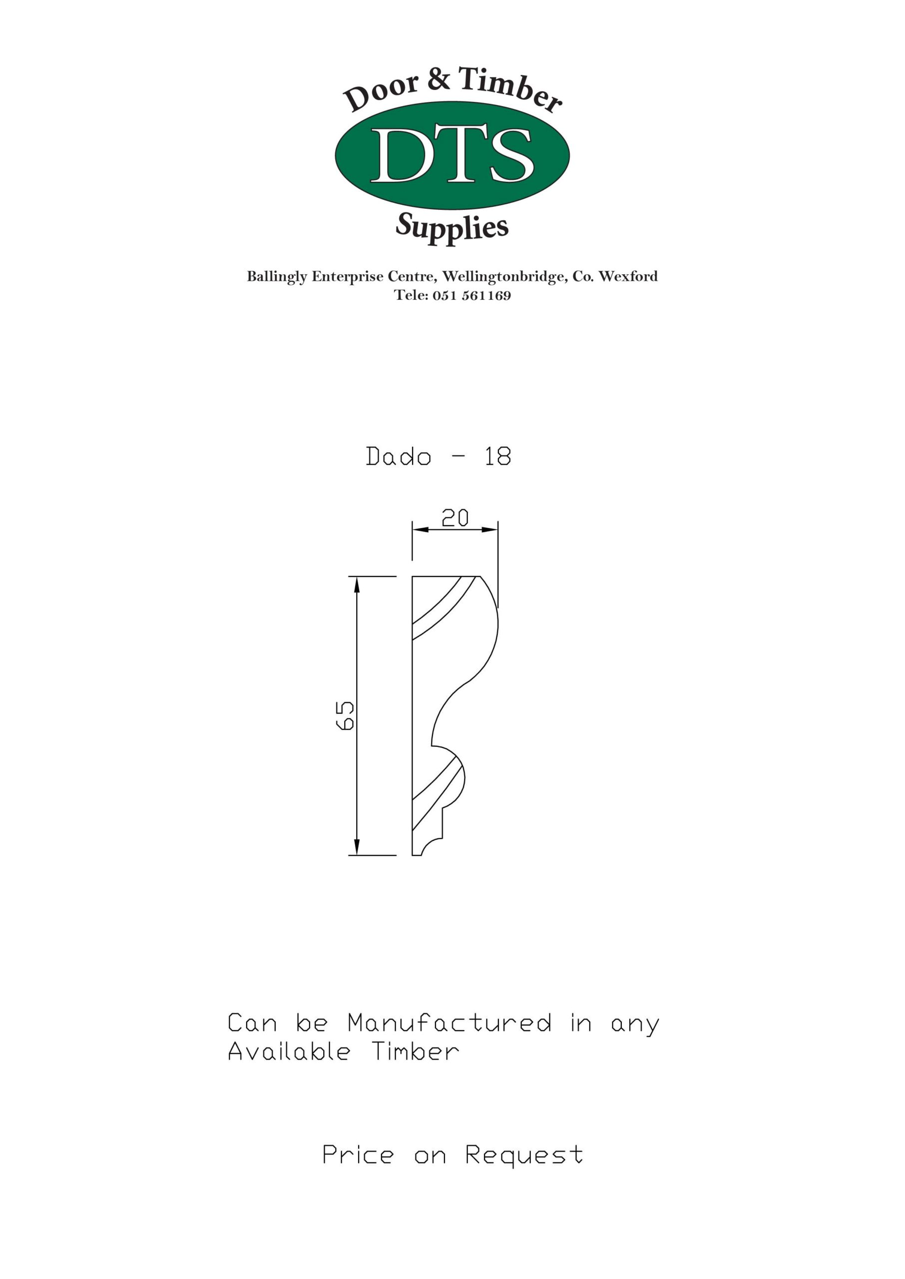 Door and Timber Supplies - Bespoke Dado Rails