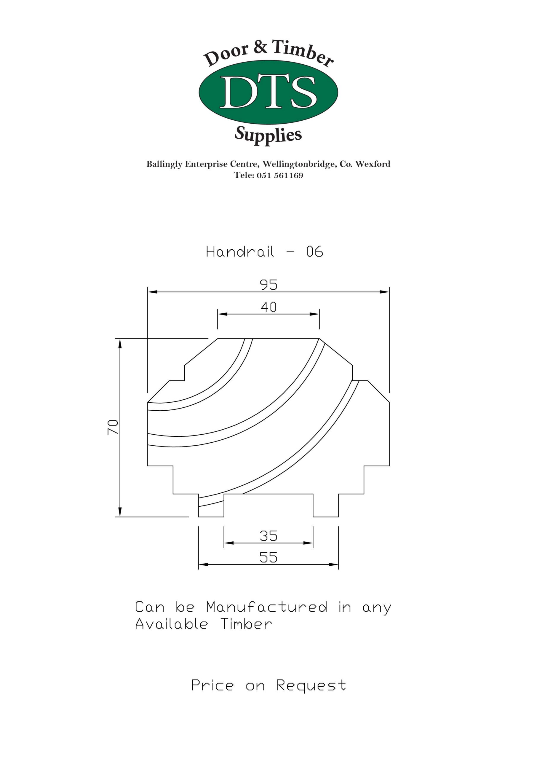 Door and Timber Supplies - Bespoke Handrails