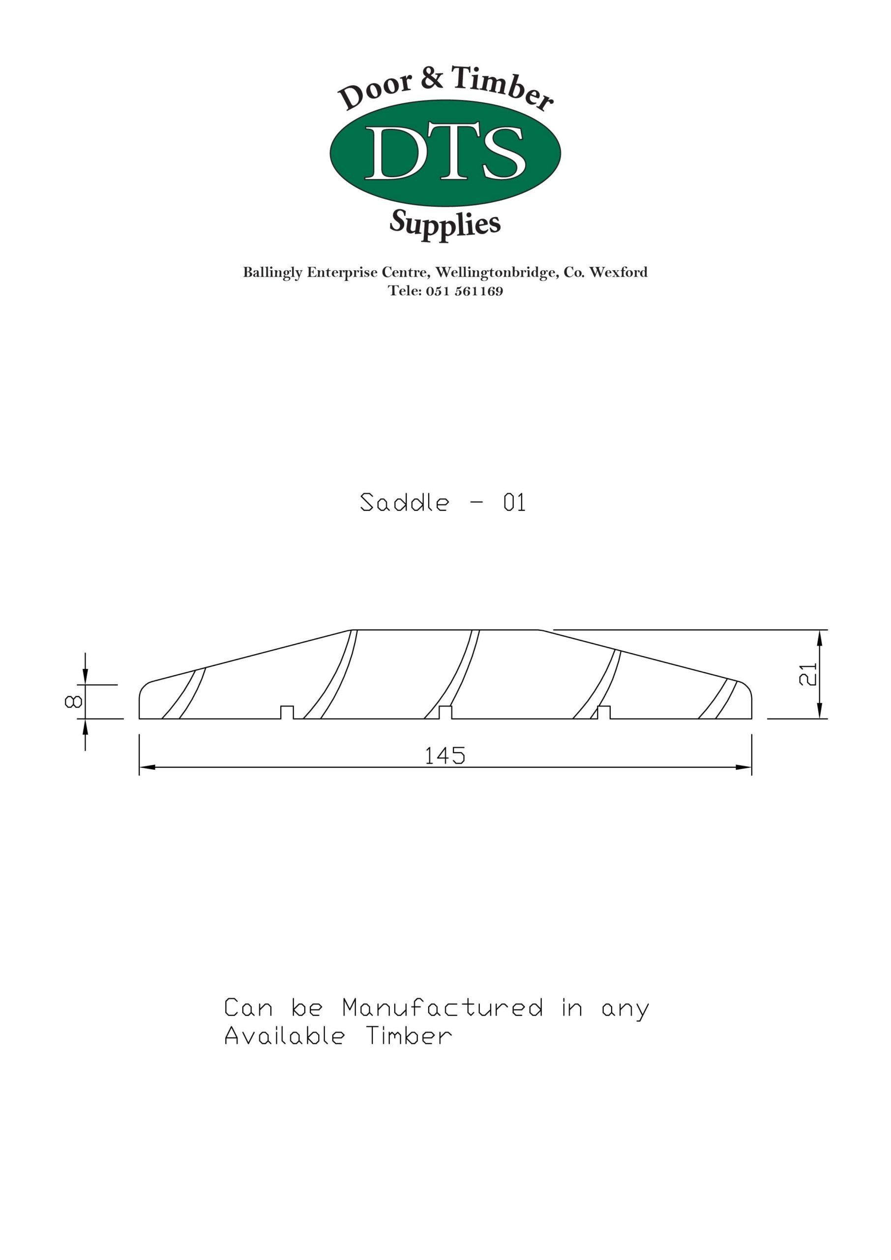 Door and Timber Supplies - Bespoke Saddle